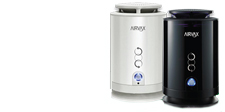 Unique air purifier with long-life filter